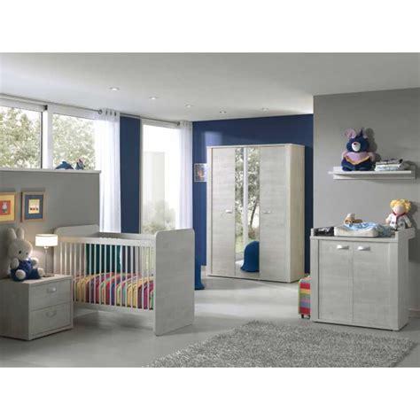 chambre bebe evolutive complete chambre bébé complète avec lit évolutif coloris chêne blanc