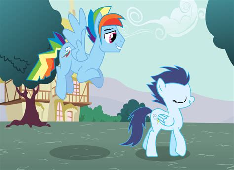 Rainbow Blitz And Glide (blitzide) By Jpokebrony On Deviantart