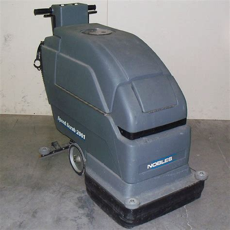 Nobles Floor Scrubber 2001 nobles ss2001 speed scrub 2001 floor cleaner scrubber ebay