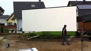 Fertiggarage Umsetzen Kosten : anlieferung fertiggarage hundhausen youtube ~ A.2002-acura-tl-radio.info Haus und Dekorationen