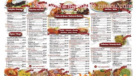 menu  santa barbara restaurant restaurant newark