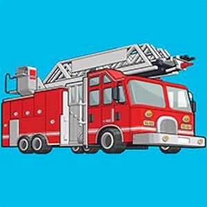 Coloriage Camion Samu.Sirene Pompier Francaise Sir Ne Pompier 2 Tons Avertisseur