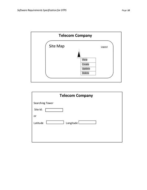 Software Requirements Specification (SRS) for Online Tower