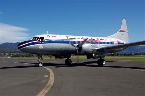 Convair 440 arrives at HARS - Historical Aircraft ...