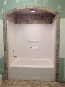 bathroom surround ideas bathtub tile like the idea of tile around and above shower tub surround less grout to clean
