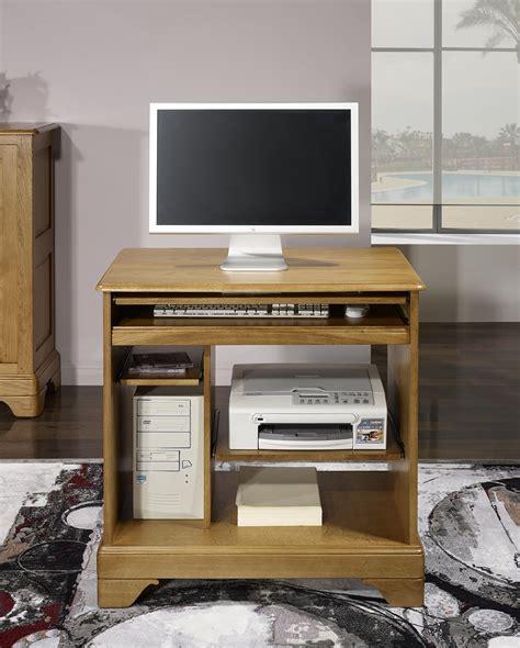 petit bureau informatique en chêne de style louis philippe