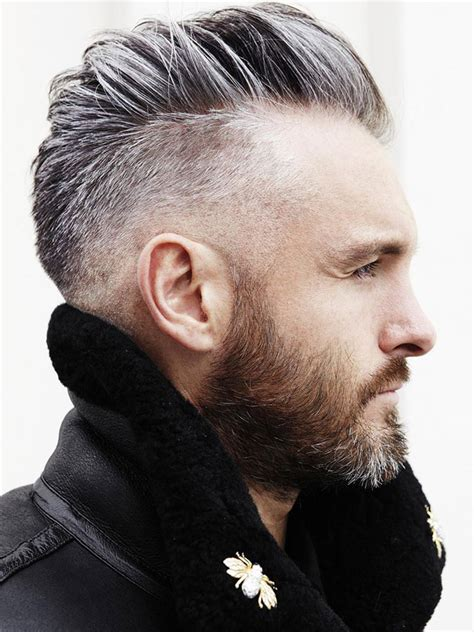 flattering hairstyles men receding hairlines