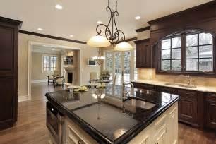 kitchen island with granite countertop 143 luxury kitchen design ideas designing idea