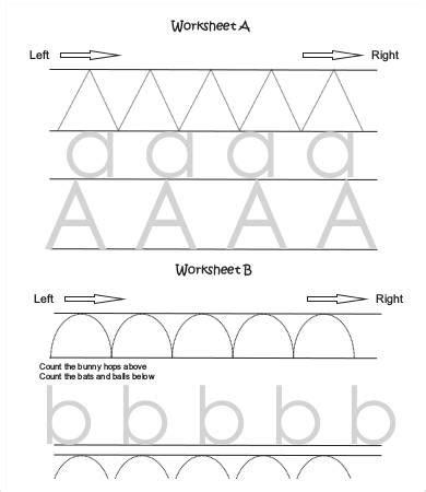 free printable preschool worksheet 9 free word pdf 463 | Free Printable Preschool Writing Worksheets
