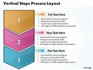Business Powerpoint Templates Vertical Steps Process