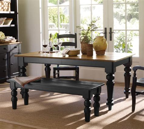 Black Kitchen Table Decorating Ideas by Redirecting