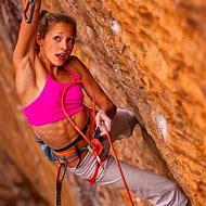 Female Rock Climbers