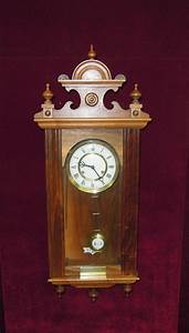 r a west german wall clock pendulum With german pendulum wall clocks