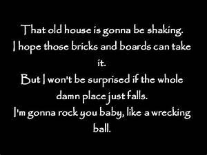 Eric Church - Like a Wrecking Ball Lyrics.mp4 - YouTube