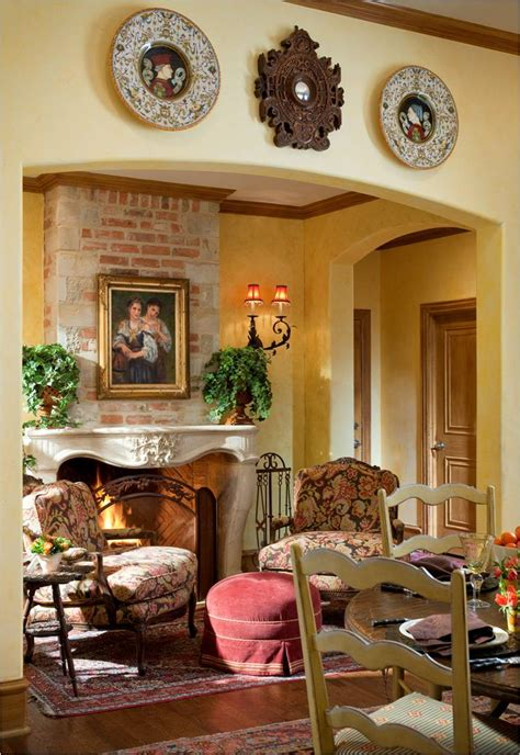 Country French Living Room Pictures by Amp Up A Room With Accessories Margaret Chambers Adds