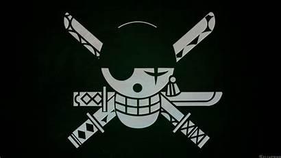 Roronoa Zoro Piece Jolly Roger Pirate Anime