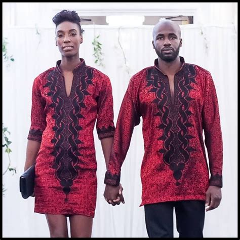 TRADITIONAL AFRICAN COUPLE matching outfit by AFRICANISEDSHOP u00a375.00 | African wardrobe ...