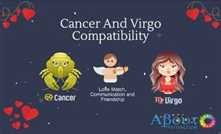 cancer and virgo compatibility love and friendship