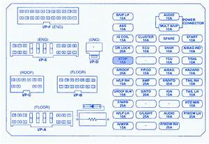 Kia Rio 2009 Fuse Box  Block Circuit Breaker Diagram