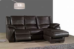 living room sofa recliner sofa cow genuine leather With sectional sofa with one recliner