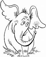 Pavilion Coloring Pages Template Horton Seuss Dr Hears Elephant Draw Drawing Step Seussical sketch template