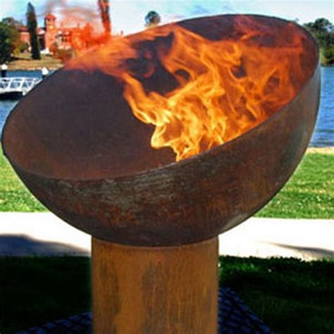 The Goblet Cast Iron Outdoor Fire Pit