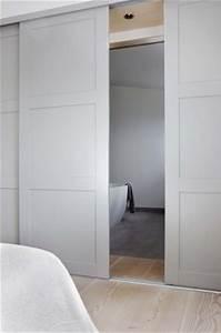 best 25 sliding pocket doors ideas on pinterest With apartment closet doors