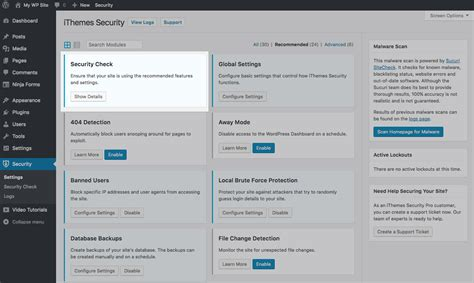 New! Introducing Wordpress Security Check Pro In Ithemes