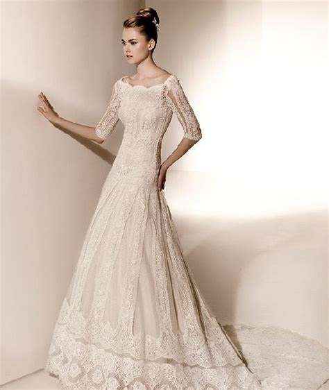 Boat Neck Net Gowns by Boat Neck Wedding Gown Wedding Gowns