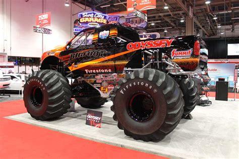 bigfoot electric monster truck sema 2012 bigfoot on batteries