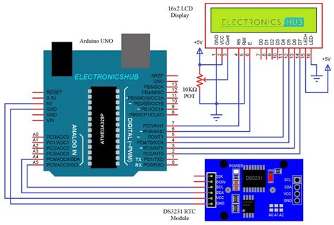 Arduino Rtc Module Tutorial Real Time Clock