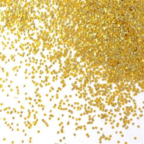 Gold Glitter Squares - Sprinkle Pop