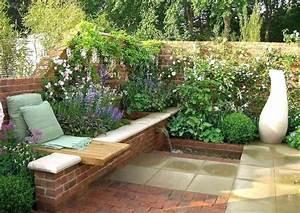 Garten Bepflanzen Ideen : sichtschutz ideen fur den garten natursteinmauer garten ~ Lizthompson.info Haus und Dekorationen
