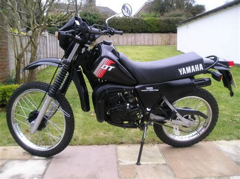 Yamaha Dt 125 R Dirt Bike Crosser