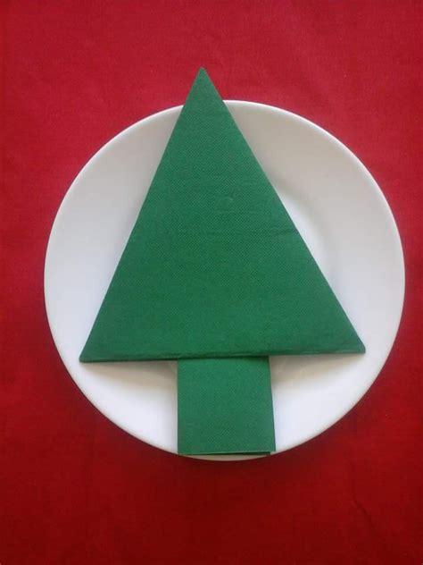 pliage serviette sapin de noel no 235 l pliage serviette sapin plat vert accessoires de maison par dubo arts