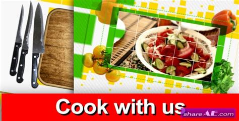 cook with us free template videohive cook with us tv pack 187 free after effects