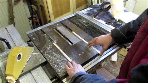 Table Saw Runners For Sleds And Jigs  Quick & Dirty Be