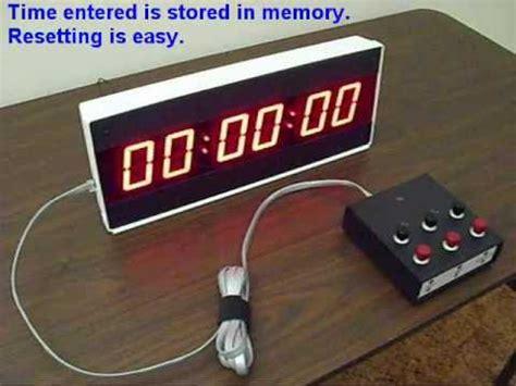Kitchen Timer Translation by Industrial Digital Timer Countdown Timer Large Led Ck