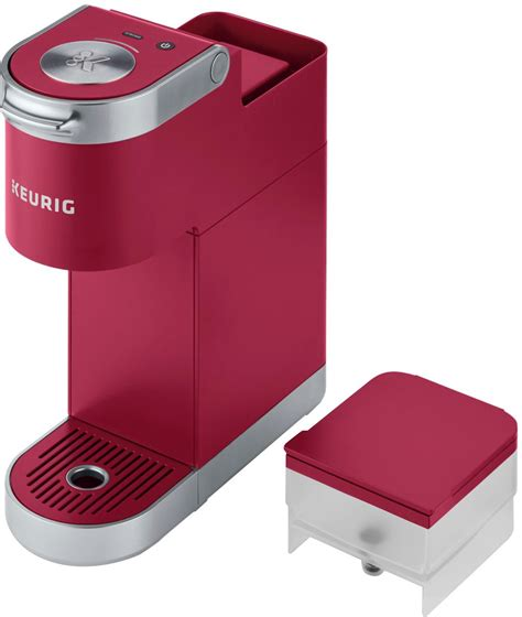 Most keurig coffee makers are single serve machines that can take three basic sizes which are 6, 8, and 10 oz. Keurig K-Mini Plus Single Serve K-Cup Pod Coffee Maker Cardinal Red 5000200240 - Best Buy