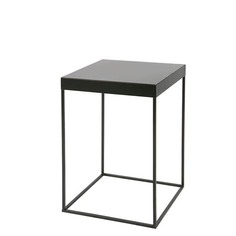 table d appoint design industriel m 233 tal noir meert by drawer