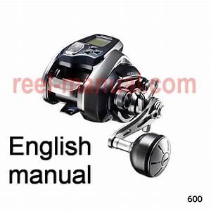 Shimano 2018 Forcemaster 600 Download Original User Manual