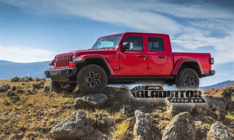 The 2020 Jeep Gladiator Pickup Truck