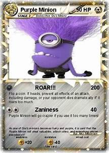 Pok U00e9mon Purple Minion 2 2 - Roar
