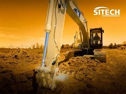 Excavator Wallpapersafari Wallpapers Sitech Muddy Backgrounds Pc