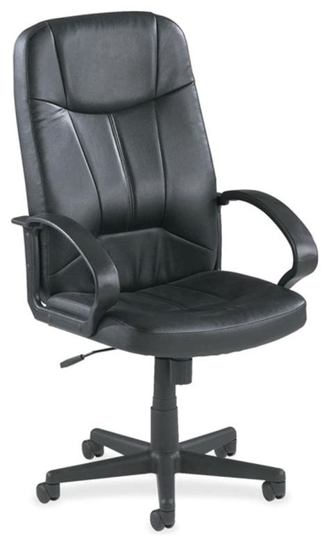 lorell executive high back chair leather lorell chadwick executive leather high back chair