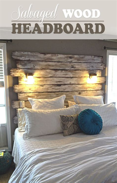Great Do It Yourself Headboard Pictures