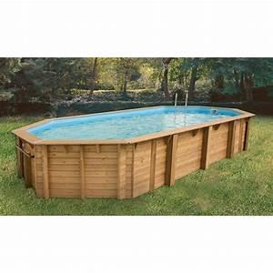 Piscine Bois Ubbink : ubbink piscine bois ocea beige 470x860x130cm achat ~ Mglfilm.com Idées de Décoration