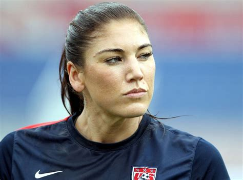 hope solo suspended   soccer team  news