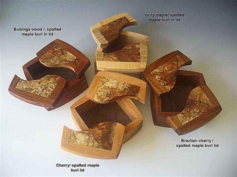 decorative keepsake box handmade  exotic woods