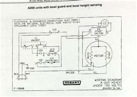 hobart  wire diagrams questions answers